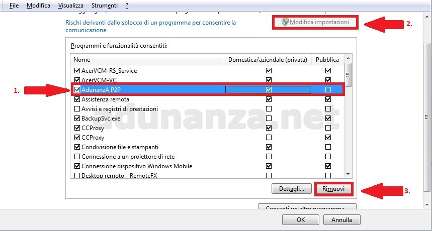 emule adunanza windows 10