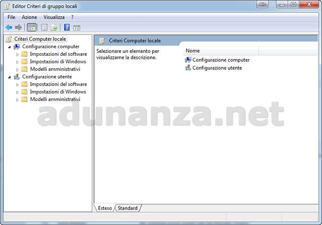Windows 10: sicurezza e privacy - Criteri di gruppo (7