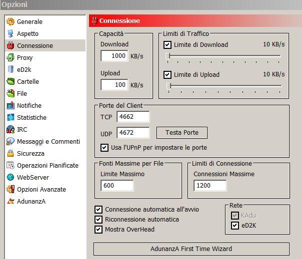Bassa velocità in download - Assistenza - AduForum